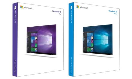 Microsoft Windows 10 Home ou Professional, version téléchargeable