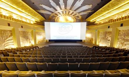 Une entrée de cinéma valable dans tous les UGC de Belgique à 7,99 €