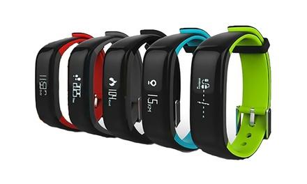 Bracelet sport connecté Bluetooth Wee Plug, fréquence cardiaque et pression artérielle